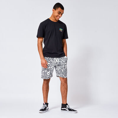 Sweat short Keith Haring Seb AOP
