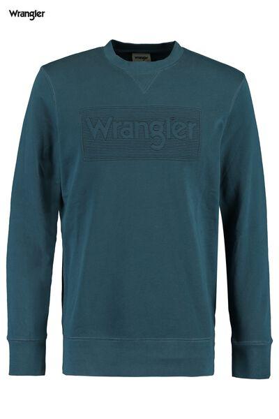 Pullover Wrangler Tonal logo
