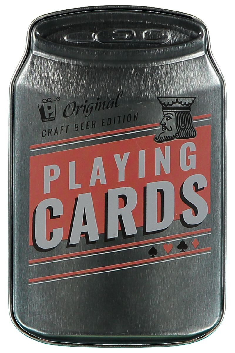 Gift Beercan Playingcards