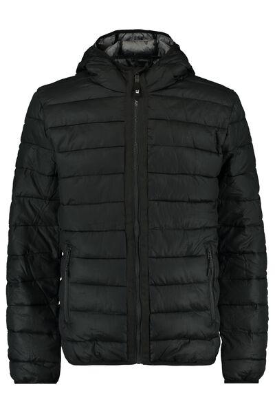Gewatteerde jas met steekzakken