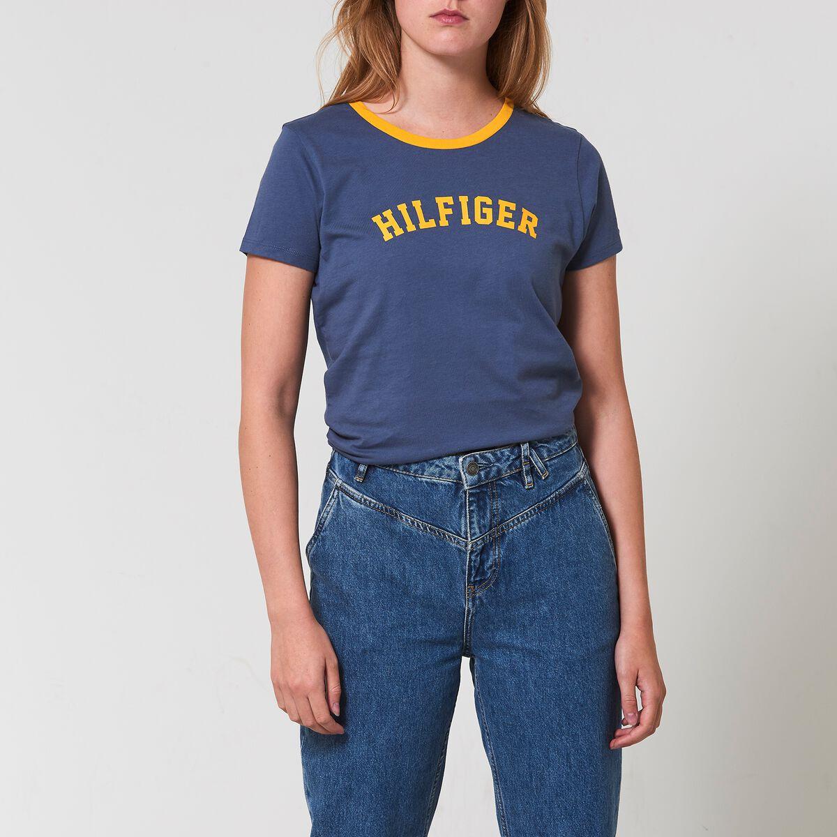 a5dec6090 Women T-shirt Tommy Hilfiger Blue Buy Online