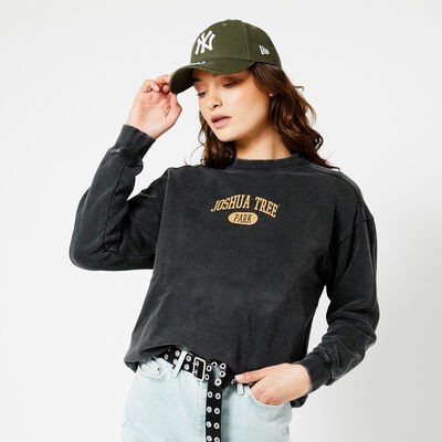 Sweater with Colorado text print