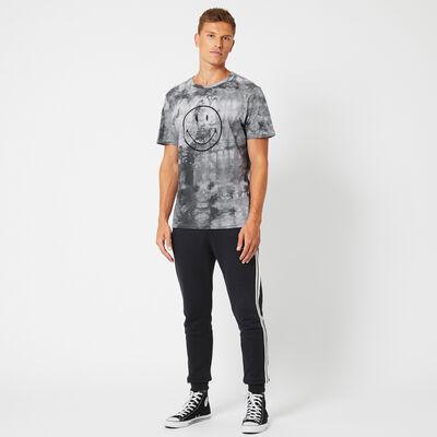 T-shirt Smiley Echo dye
