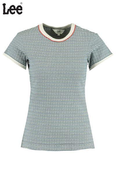 Lee t-shirt Striped Rib Tee