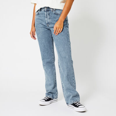 Loose-fit jeans high waist