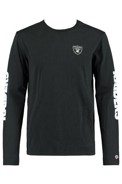 NFL Longsleeve-Shirt mit Text-Print