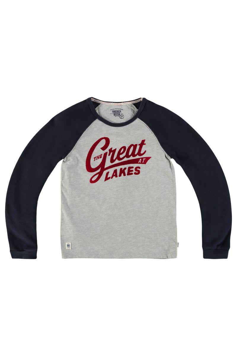 12433249 Boys Long sleeve Liam Grey Buy Online | America Today