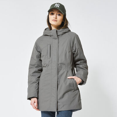 Jacket Parka made of recycled polyester with hood
