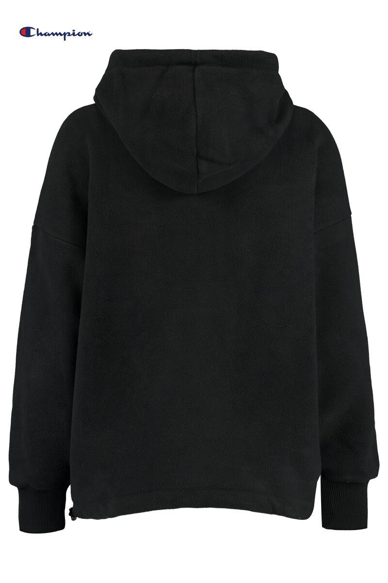 Hoodie Hooded Half zip