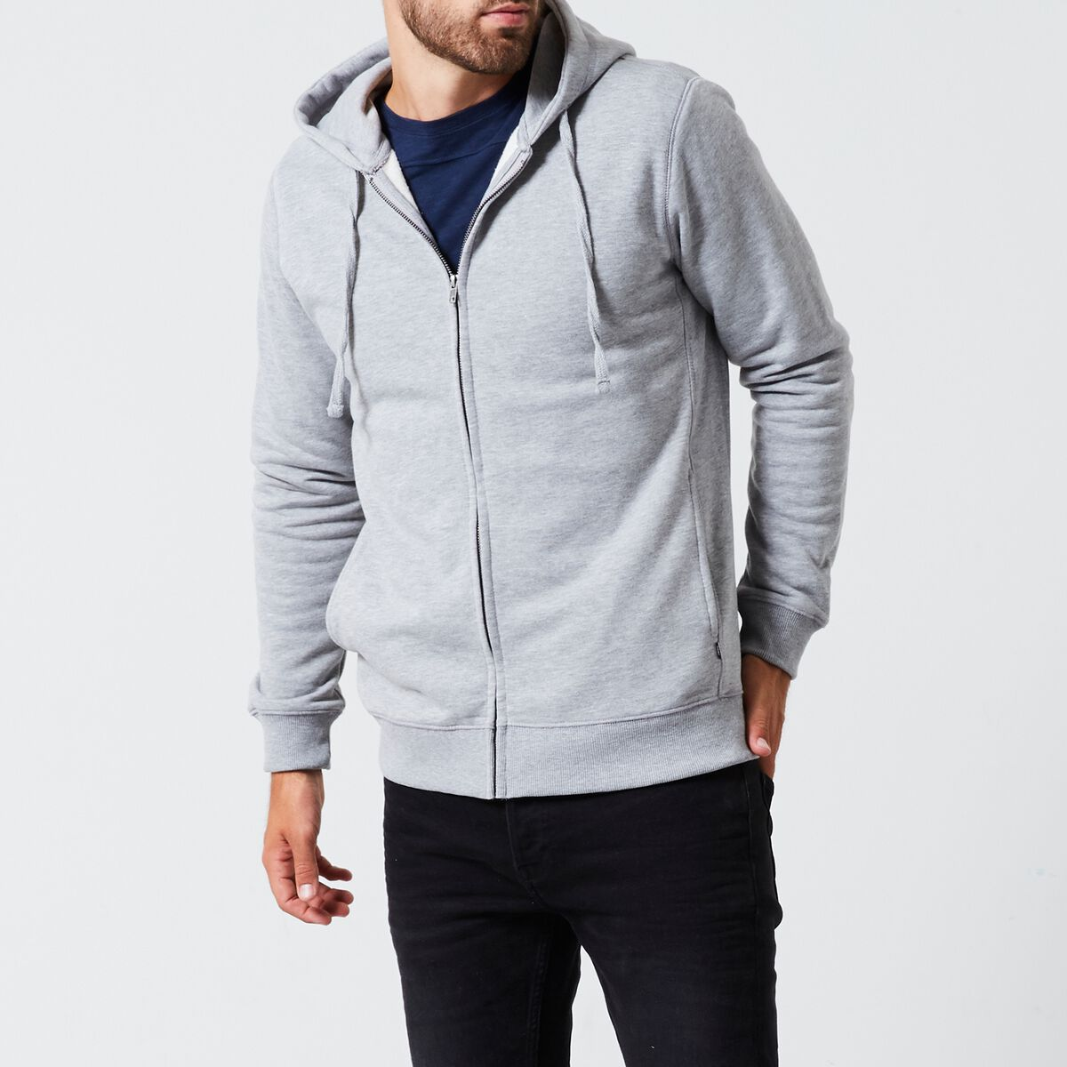Cardigan en molleton Simon