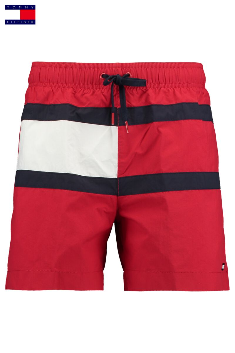 6fa8926a1b Men Swimming trunks Tommy Hilfiger Medium Drawstring Red Buy Online
