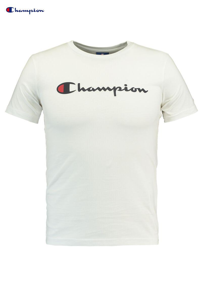 86796e075 Boys T-shirt Champion logo White Buy Online