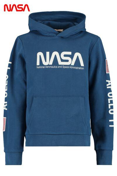 NASA hoodie with kangaroo pocket