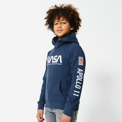 NASA hoodie met print