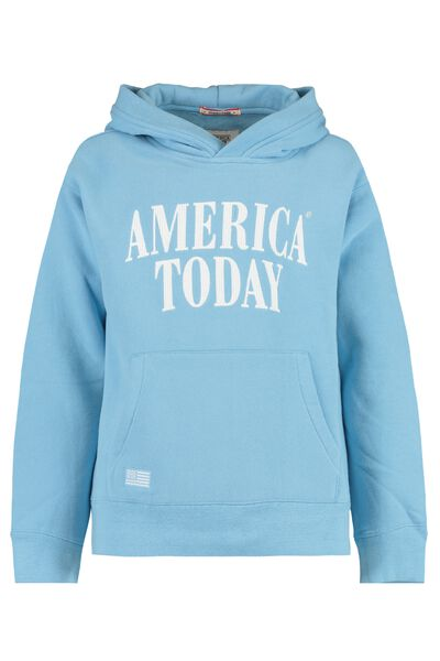 Hoodie with text print