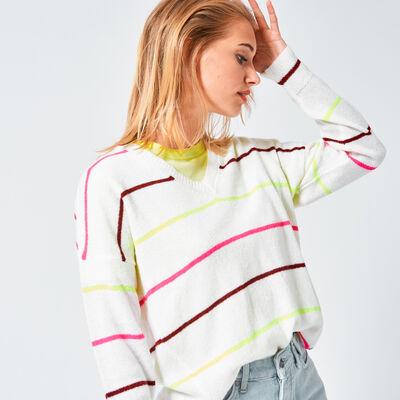 Pullover Karla neon
