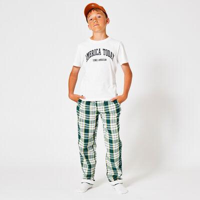 Pyjamabroek ruitprint