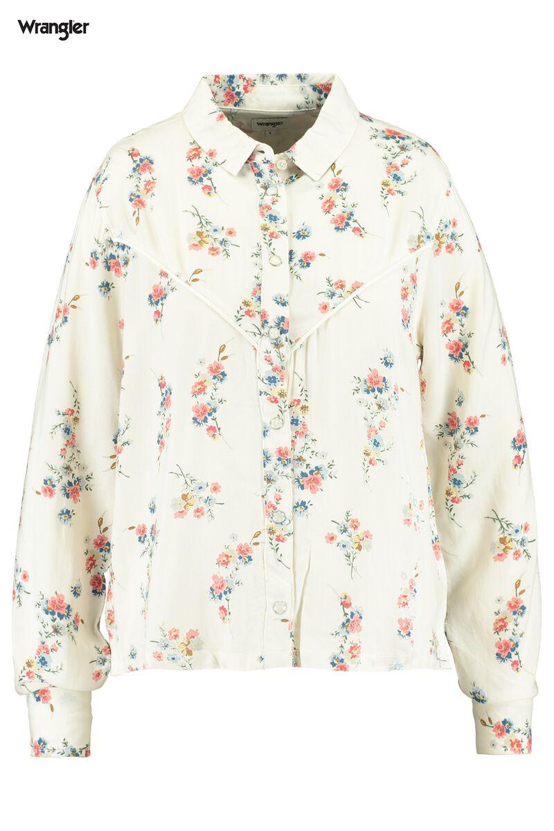 Blouse collar Flower Shirt