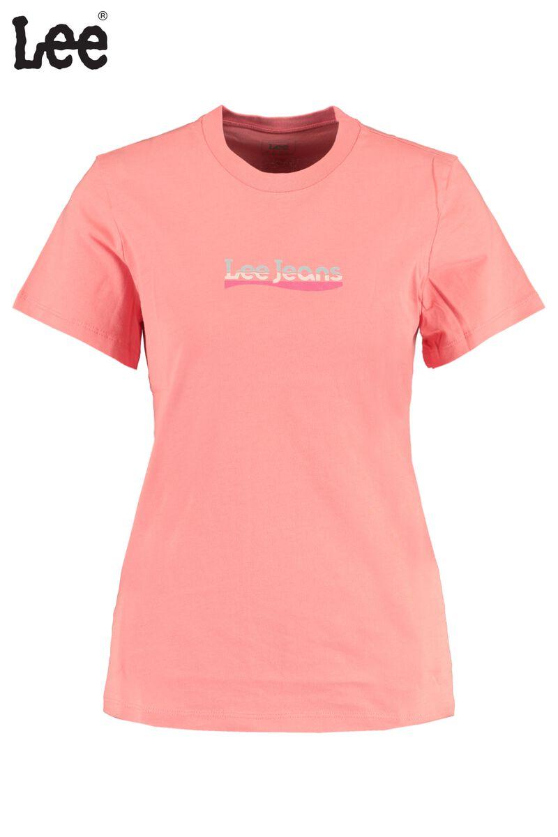 T-shirt Slim Logo Tee Cherry