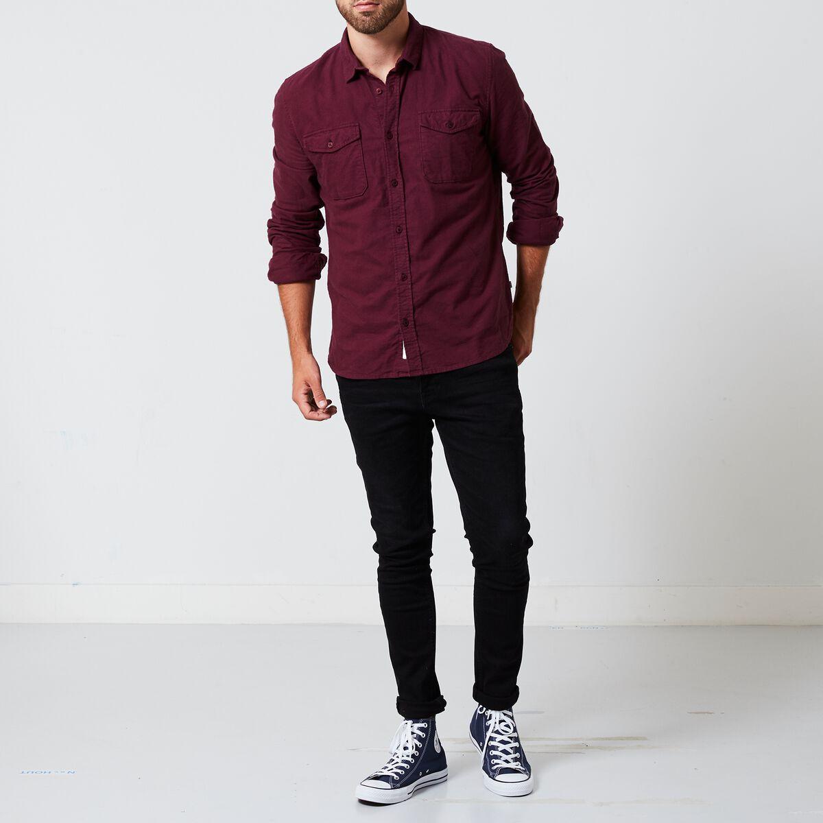Heren Overhemd Rood.Heren Overhemd Hyder Rood Kopen Online America Today