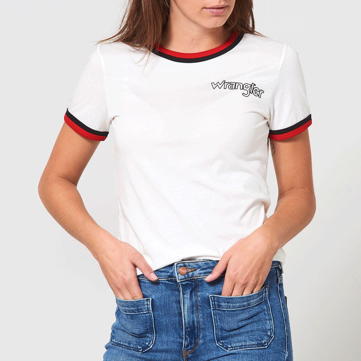 Schatz als seltenes Gut Repliken Qualitätsprodukte T-shirt Wrangler Ringer