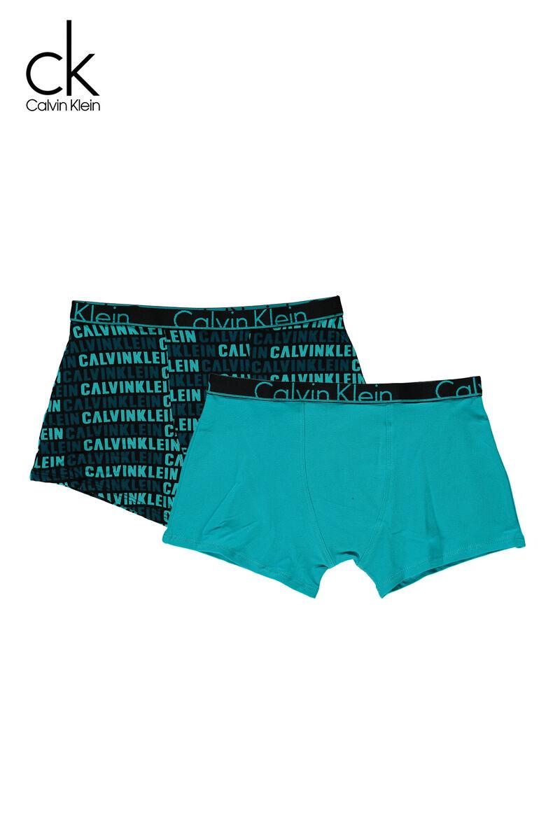 a836427d92bda7 Boys Boxershort Calvin Klein 2-pack Blue Buy Online