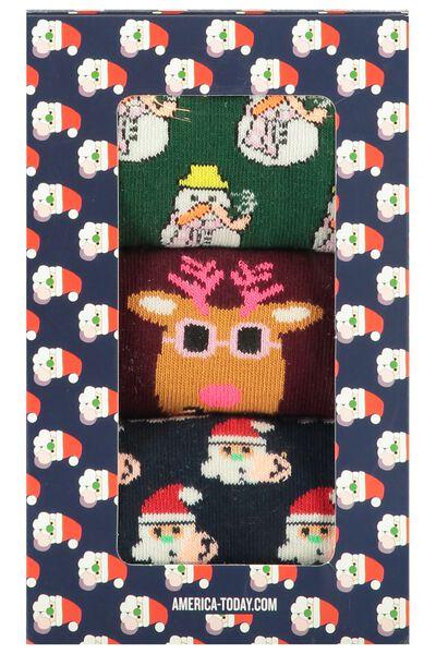 Socks 3Pack Xmas