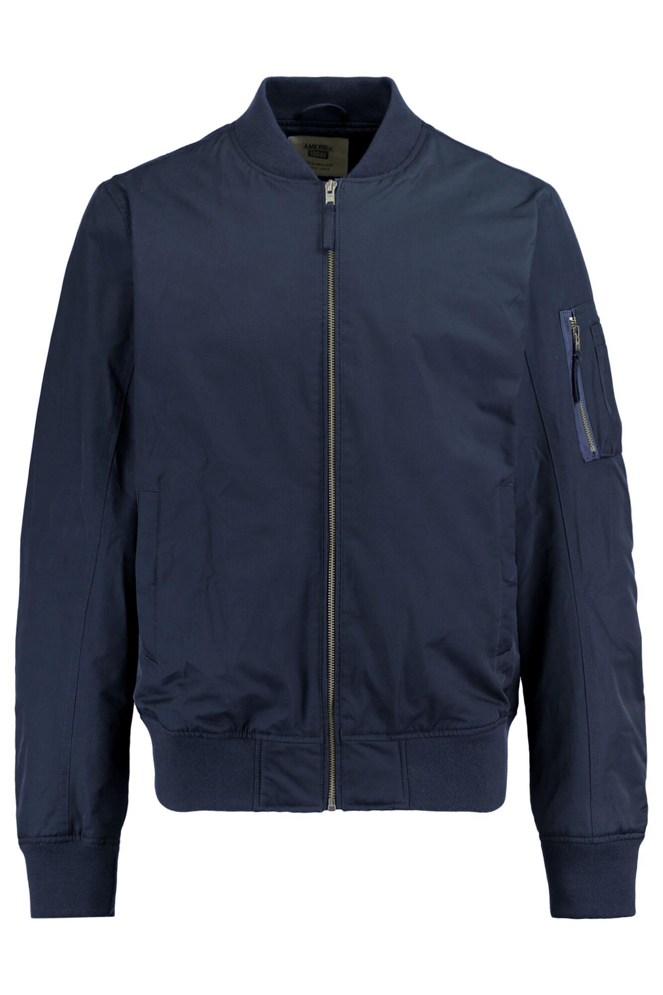 Men Bomber jacket Julian Blue Buy Online