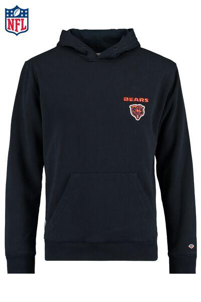 Hoodie with logo and kangaroo pocket