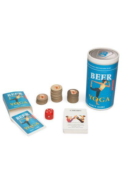 Gift Beer yoga game