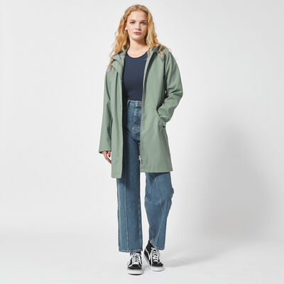 Rainoat women lined long