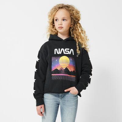 Hoodie with NASA print