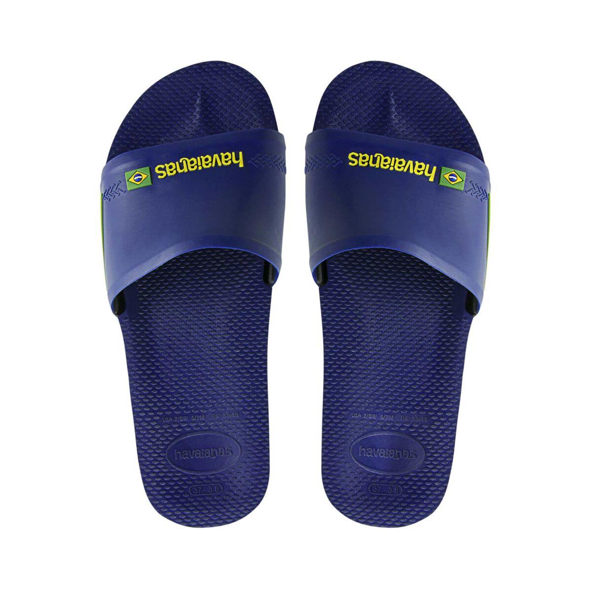 ee0170dcf66b Men Havaianas Slide Brasil Blue Buy Online
