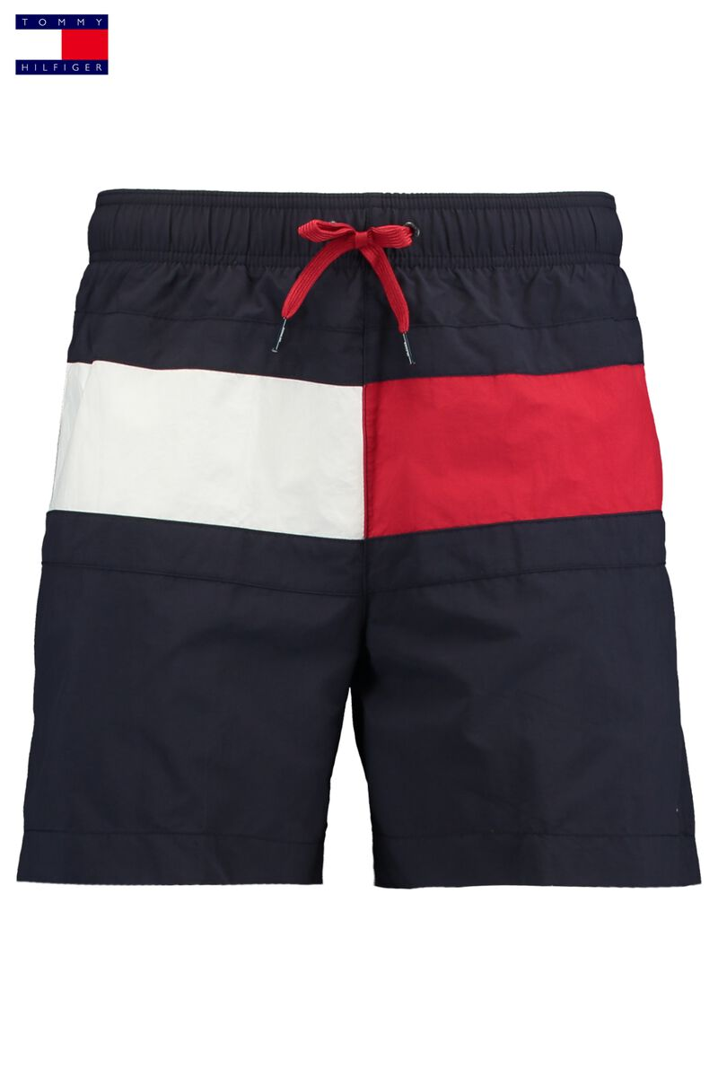 2560fbfb Men Swimming trunks Tommy Hilfiger Medium Drawstring Blue Buy Online