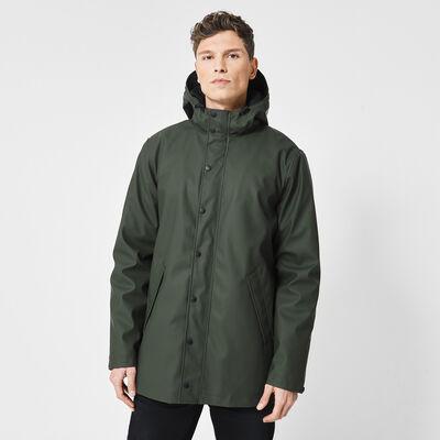 Raincoat men lined