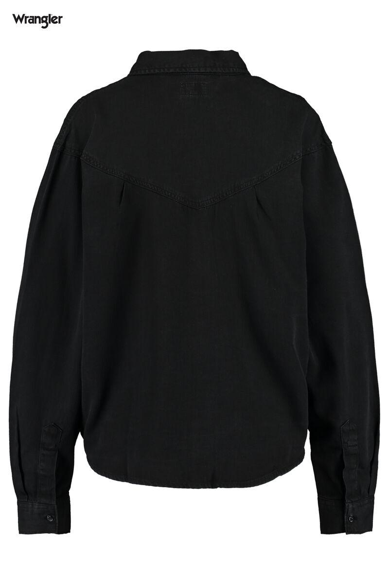 Blouse collar 80's Denim shirt