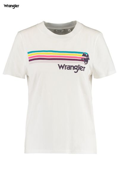 T-shirt Wrangler High rib regular