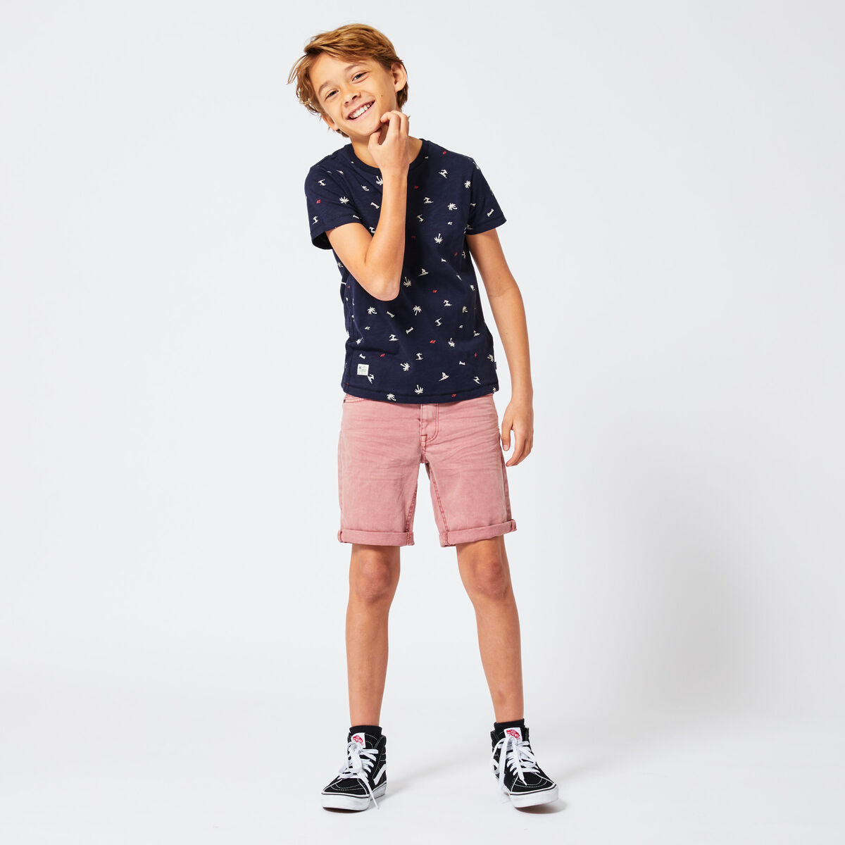 Denim short Nils Jr.