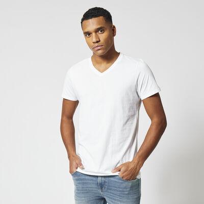 Basic T-shirt encolure en V