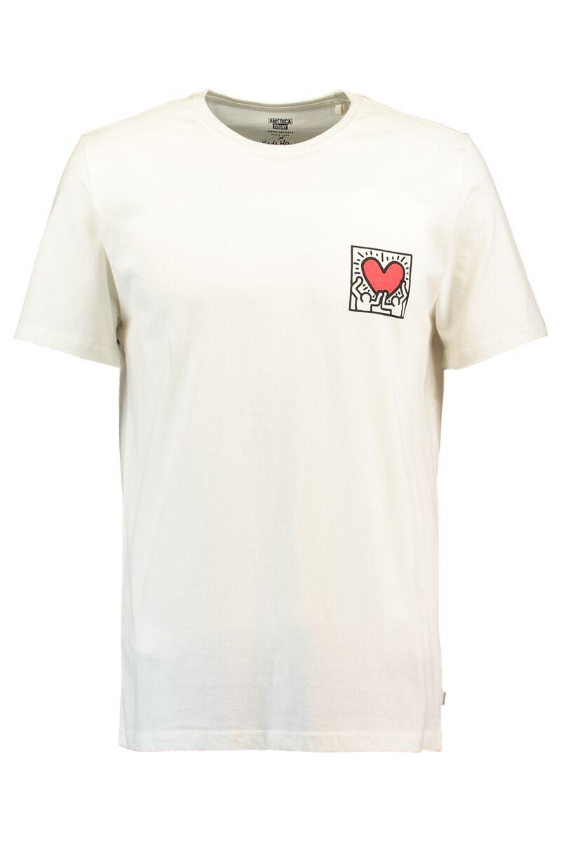 51d53849 Men T-shirt Keith Haring Esai White Buy Online