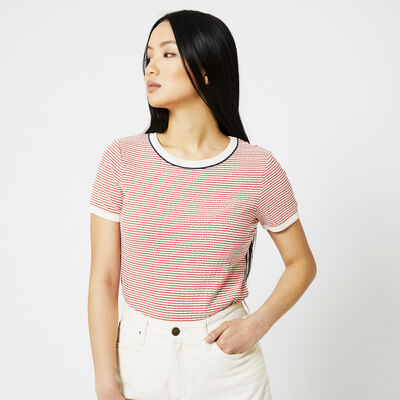 Lee t-shirt streepprint