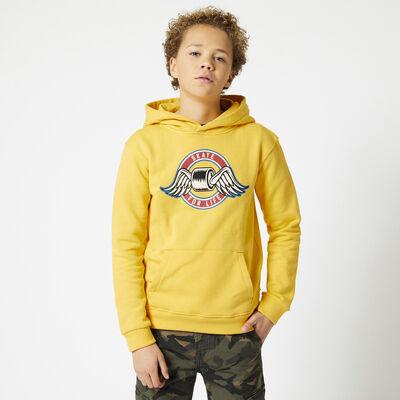 Hoodie mit Print 100% Baumwolle