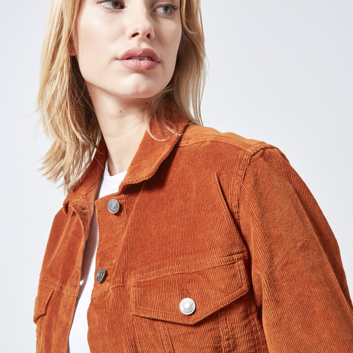 Trucker jacket Hilda Cord