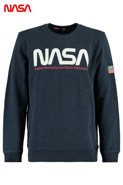 NASA sweater with round neckline