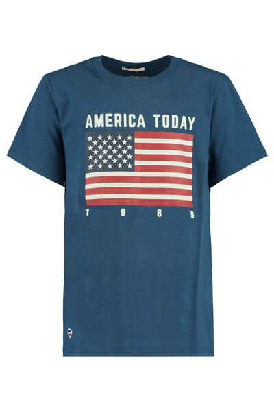 T-shirt Amerikaanse vlag print