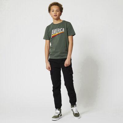 Trousers elastic waistband