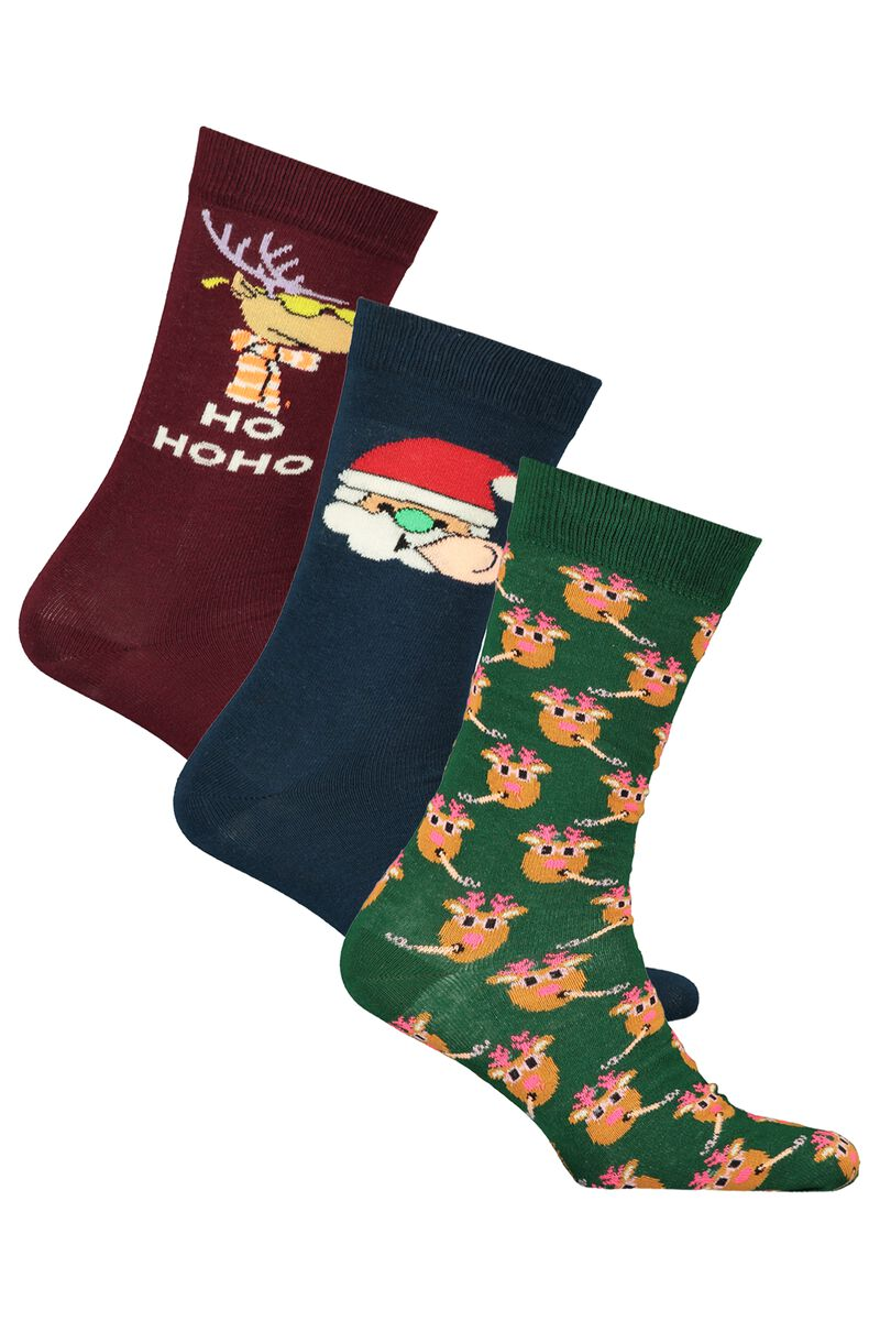 Socks 3Pack Xmas Socks
