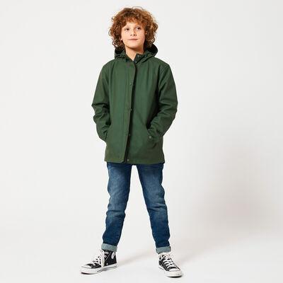 Rain jacket Unisex Jade