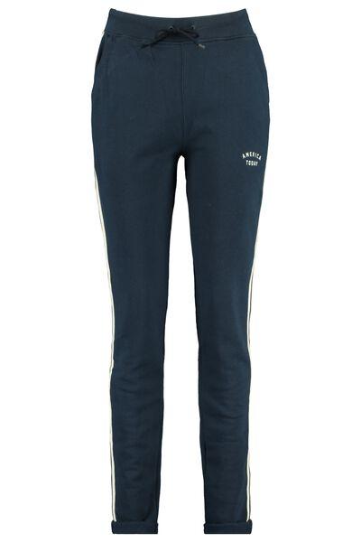 Jogging pants side stripe