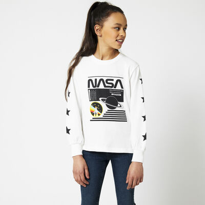 Langarm NASA Rundhalsausschnitt